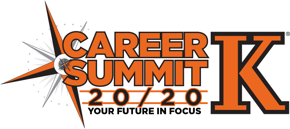 Text: Career Summit 20/20 Your Future in Focus